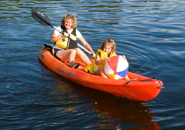 The Best Kayak for Active Parents
