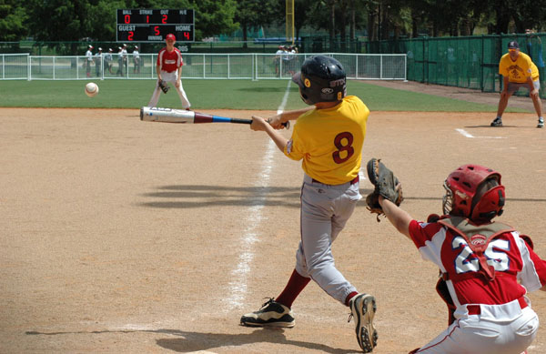 Teaching your child to love a sport