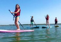 Paddle Board Activities Your Children Will Love