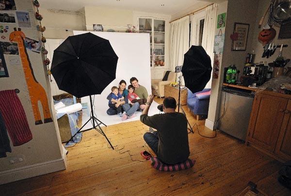 Tips for Setting up A Home Photo Studio for Your Family