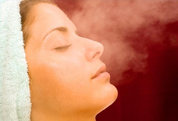 Facial Steaming for Parents