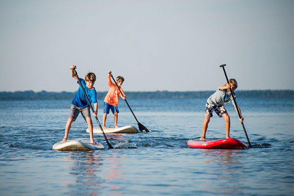 Tips for Paddle Boarding with Your Children